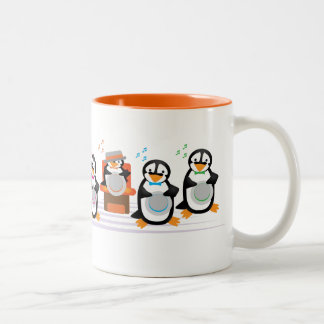 Barbershop Quartet Two-Tone Coffee Mug
