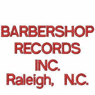 BARBERSHOP RECORDS INC., Raleigh, N.C. Embroidered Hooded Sweatshirts