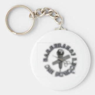 Barbershop Records LOGO Keychain