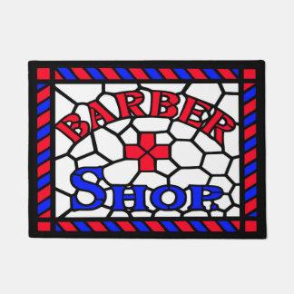Barbershop Sign Doormat