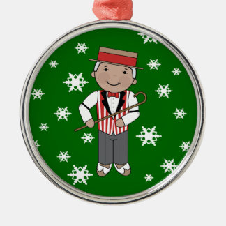 Barbershop Singer Christmas Music Ornament