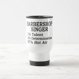 Barbershop Singer Hot Air Travel Mug