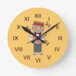 Barbershop Singer Music Clock Gift