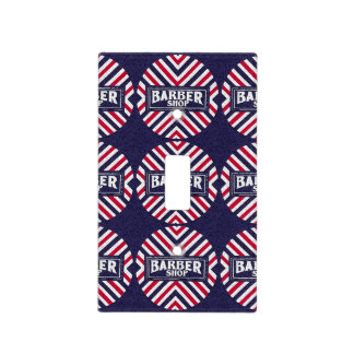 Barbershop Switch Plate Cover