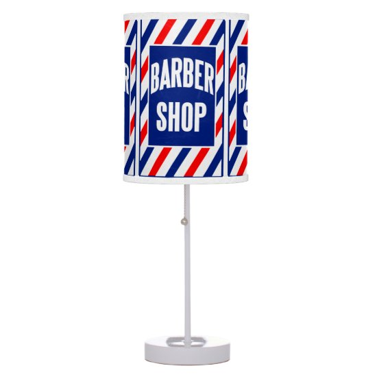 Barbershop Table Lamp