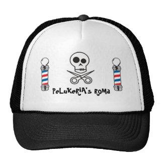 barbershop trucker hat