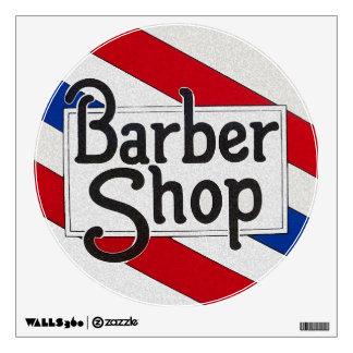 Barbershop Wall Decals