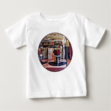 Barbershop With Coat Rack Baby T-Shirt