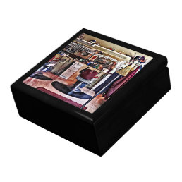 Barbershop With Coat Rack Gift Box