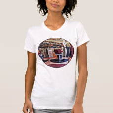 Barbershop With Coat Rack T-Shirt