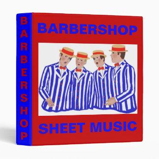 Barbershopers Binder