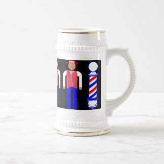 Barbershoppers Beer Stein