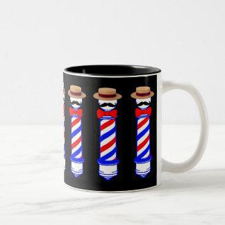 Barbershoppers Two-Tone Coffee Mug