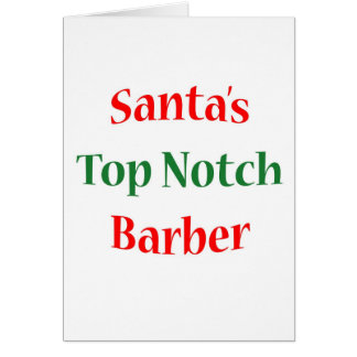 BarberTop Notch Card