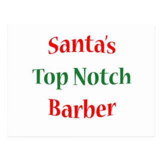 BarberTop Notch Postcard