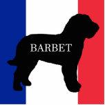 barbet name silo France flag Cutout
