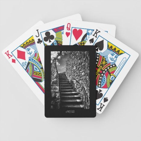 Barbican Steps, Plymouth - Monogram Bicycle Playing Cards