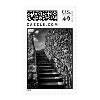 Barbican Steps, Plymouth Postage Stamp