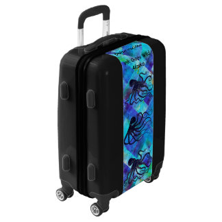 Barbie Hopkins Octopus Carry On Luggage