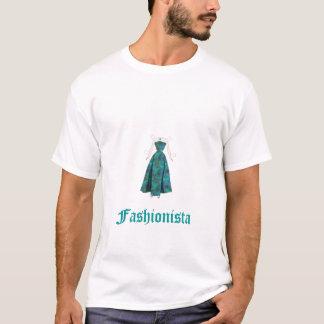 barbie-paper-doll-beach-gown, Fashionista T-Shirt