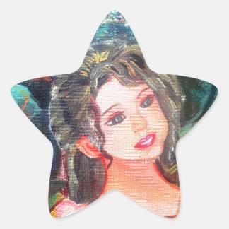 Barbie Star Sticker