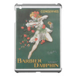 Barbier Dauphin Conserves Vintage Food Ad Art iPad Mini Cover