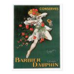 Barbier Dauphin Conserves Vintage Food Ad Art Post Cards