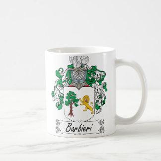 Barbieri Family Crest Coffee Mug