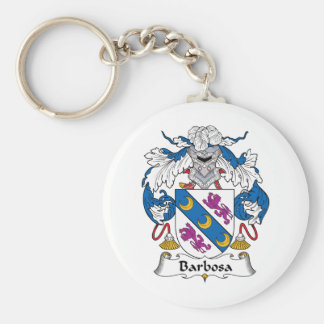 Barbosa Family Crest Keychain
