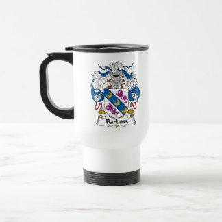 Barbosa Family Crest Travel Mug