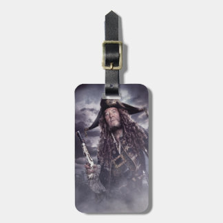 Barbossa - Command Respect Bag Tag