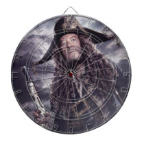 Barbossa - Command Respect Dartboard With Darts