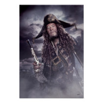 Barbossa - Command Respect Poster