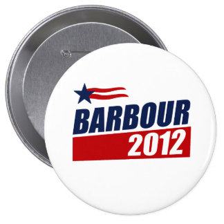 BARBOUR 2012 PINBACK BUTTON
