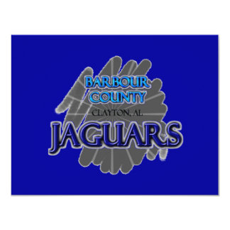 Barbour County High School Jaguars - Clayton, AL Card