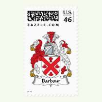 Barbour Family Crest Stamps