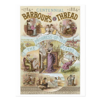 Barbours Thread Postcard