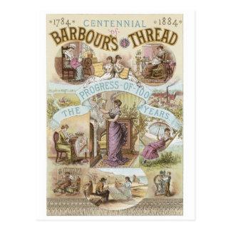 Barbours Thread Postcard