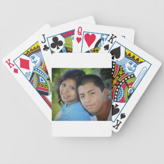 Barbra and Martin Bicycle Playing Cards