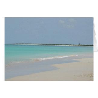 Barbuda Beach Card
