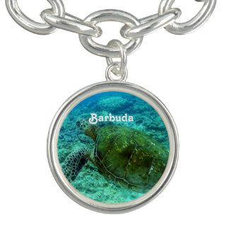 Barbuda que bucea pulsera
