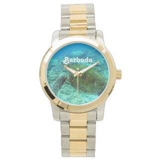 Barbuda que bucea relojes