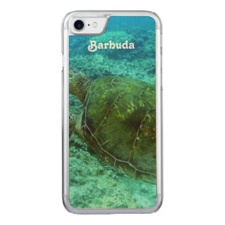 Barbuda Snorkeling Carved iPhone 7 Case