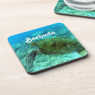 Barbuda Snorkeling Drink Coaster