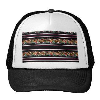 Barbwire pattern trucker hat