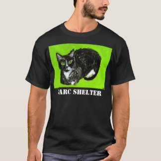 BARC Shelter Men's Black T-Shirt