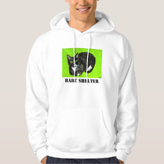 BARC Shelter White Hoodie