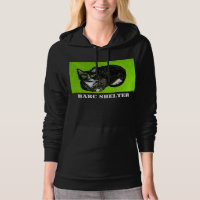 BARC Shelter Women's Black Hoodie
