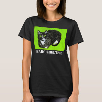 BARC Shelter Women's Black T Shirt