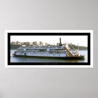 Barca de la reina del delta poster